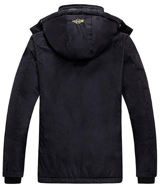 Wantdo Waterproof Fleece Rain