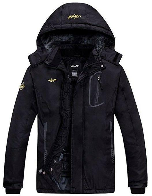 Wantdo Women's Fleece Jacket Windproof Rain Small