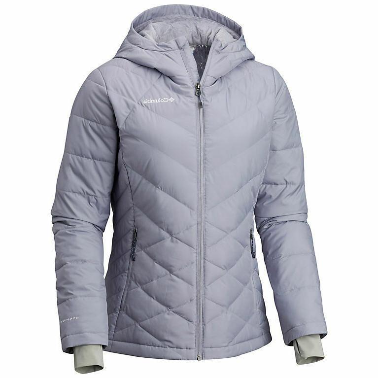 women s plus heavenly hooded jacket size
