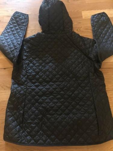 Columbia Plus Size 3X Omni Heat Fall Winter Jacket Hood