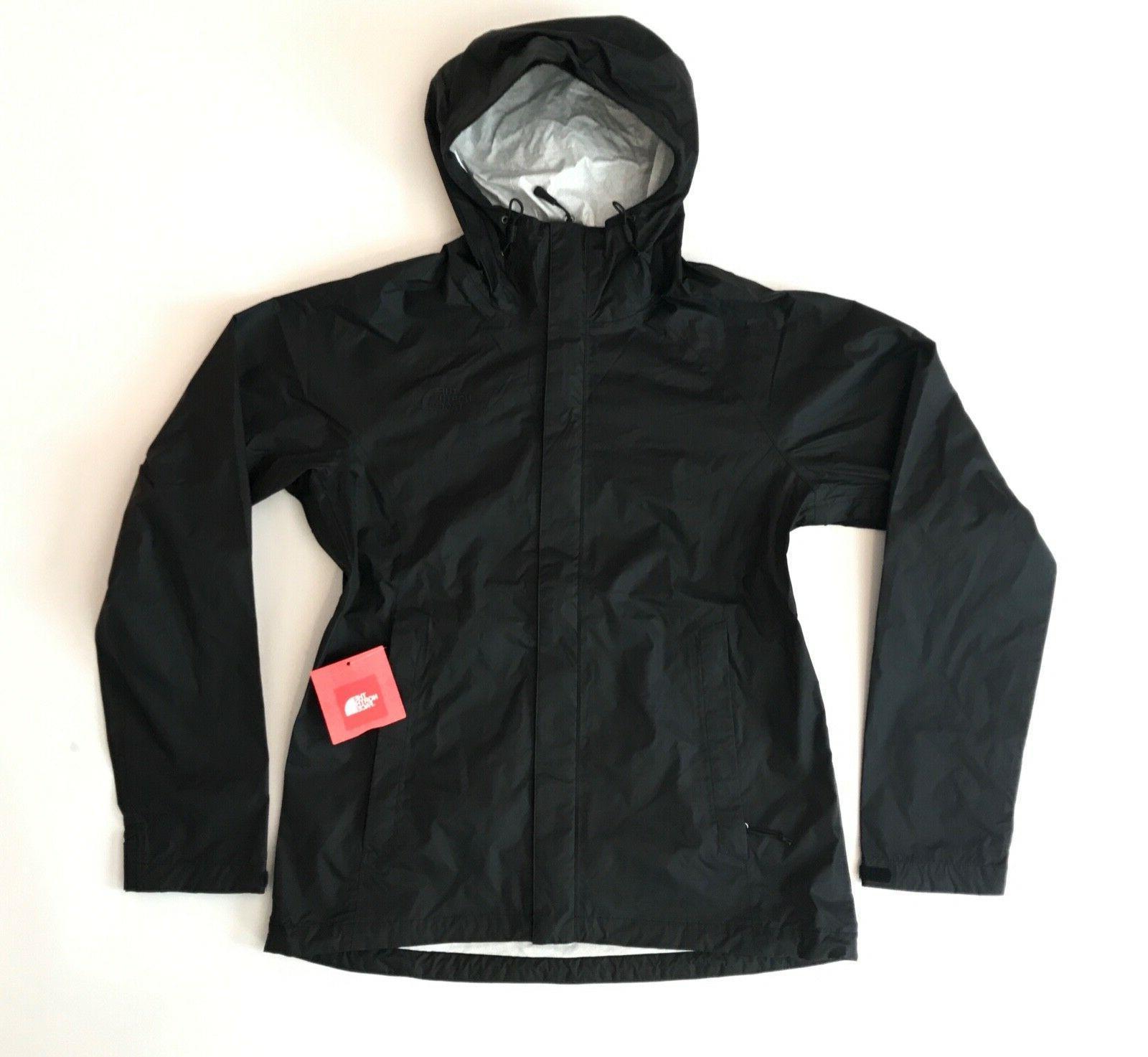 The North Women's Venture DryVent Waterproof Jacket TNF Black $99