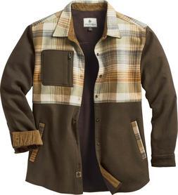 L Mens Legendary Whitetails Flannel WILDERNESS SKY SHIRT JAC