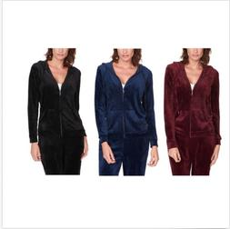 Gloria Vanderbilt Ladies' Ultra Soft Velour Jacket * Pick Co