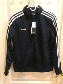 Large Women's Adidas Zip Up Track Jacket Blue