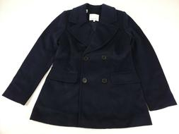 Lark & Ro Women's Double Breasted Peacoat, Coat 45% Wool Jac