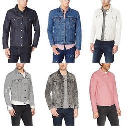 Levi's Men The Trucker Jacket Regular Fit Button Closure Cot