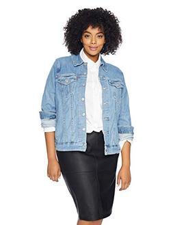 Levi's Women's Plus-Size Original Trucker Jackets, Jeanie, 3