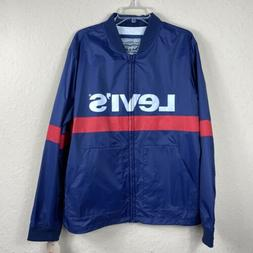 Levi's Lightweight Retro Stand Collar Windbreaker Jacket S