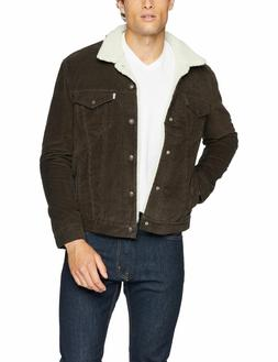 Levis Sherpa Jacket Color Brown Corduroy 163650081 All sizes