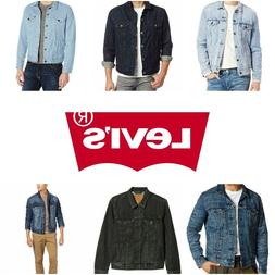Levis Trucker Jacket Denim Men's Button Front S M L XL XXL B