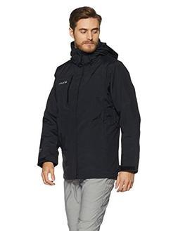 Columbia Men's Lhotse II Interchange Jacket, Black/Graphite,