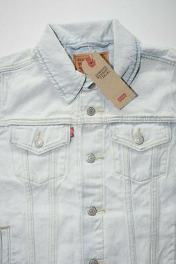 Light Blue Women's LEVI'S Original Trucker Jacket: 299450054
