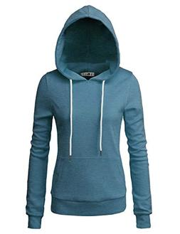H2H Lightweight Thin Hoodie Jacket for Women with Plus Steel