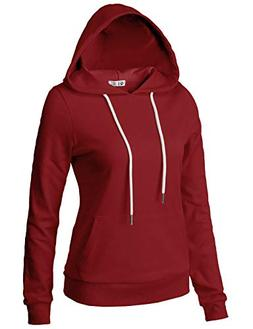 H2H Lightweight Thin Hoodie Jacket for Women with Plus Burgu