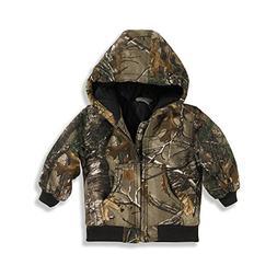 Carhartt Little Boys' Camo Active Jacket, Realtree Xtra, 4T
