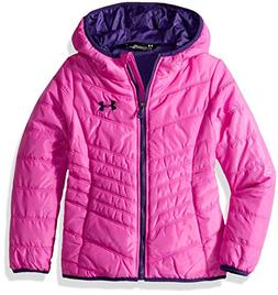 Under Armour Girls' Little ColdGear Prime Puffer Jacket, Flo