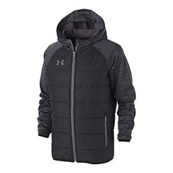 Under Armour Boys' Little Day Trekker Hooded Hybrid Jacket,