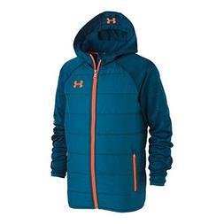 Under Armour Boys' Little Day Trekker Hooded Hybrid Jacket,