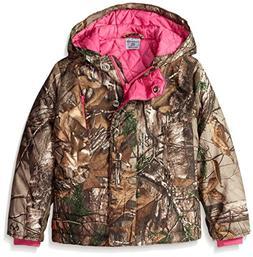 Carhartt Little Girls' Camo Mountain View Jacket, Xtra Camo,