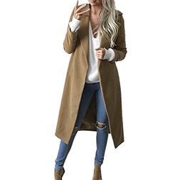 Womens Long Overcoat ,BeautyVan New Fashion Design Winter Wo