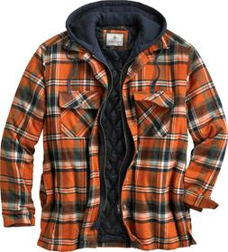 Legendary Whitetails Maplewood Hooded Shirt Jacket Mens XLT