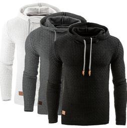 Men Hoodie Hooded Sweater Sweatshirts Pullover Winter Jacket