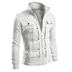 Canserin Hot Sale! Men Jacket, 2017 Fashion Mens Classic Sli