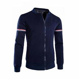 Canserin Hot Sale! Men Jacket, Mens Autumn Winter Decorative
