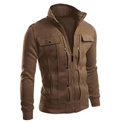 Canserin Hot Sale! Men Jacket, 2017 Fashion Mens Classic Sli