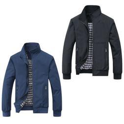 Men Leisure Leather Jacket Biker Jackets Motorcycle Coat Sli