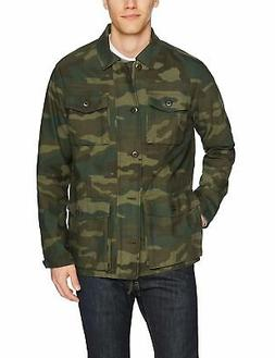 Goodthreads Men's 4-Pocket Military Jacket, Camo,  - Choose
