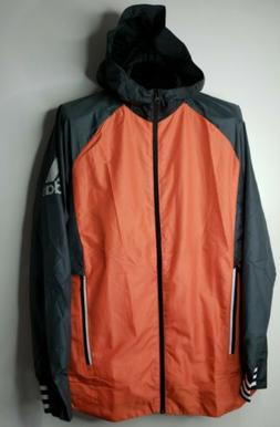 Men's Adidas Athletics ID Woven Jacket Orange Medium DM1816