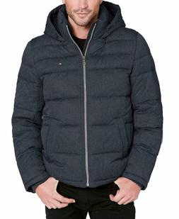Tommy Hilfiger Men's Big and Tall Classic Hooded Puffer Jack