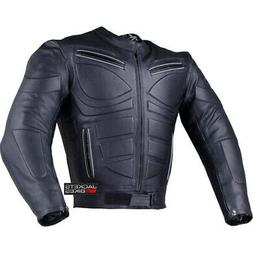 Men's Blade Motorcycle Riding Leather Armor Biker Ventilated