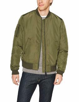Goodthreads Men's Bomber Jacket, Olive, Medium