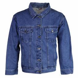 Star Jean Men's Classic Premium Button Up Cotton Denim Jean