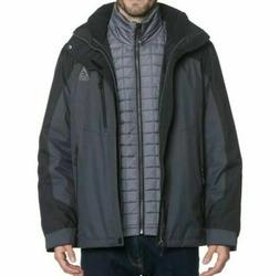 Men's Gerry Crusade 3-in-1 System Jacket Water Resistant Ins
