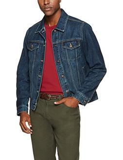 Goodthreads Men's Denim Jacket, Blue, X-Large