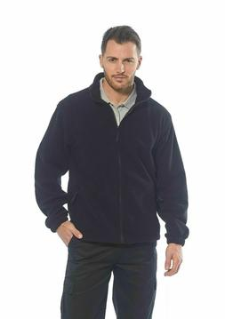 men s fleece full zip warm polar