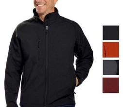Kirkland Signature Men's Full Zip Soft Shell 4-Way Stretch W
