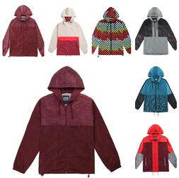 Beautiful Giant Men's Hooded Lightweight Casual Colorblock W