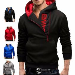 Men's Hoodie Hooded Sweatshirt Sweater Pullover Jumper Outwe