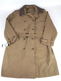 London Fog Men's Iconic Trench Coat, British Khaki, 48 Regul