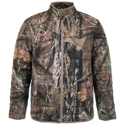 MOSSY OAK MEN'S INSULATED CAMO JACKET BREAKUP or MOUNTAIN CO
