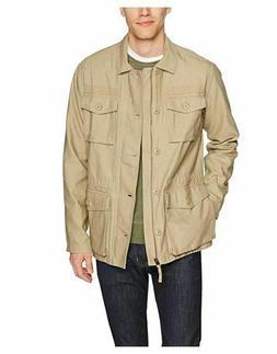 Goodthreads Men's Lightweight Military Jacket, M