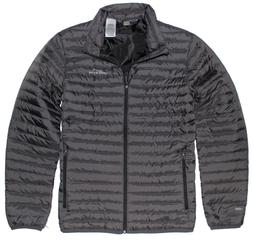 Eddie Bauer Men's Microlight Traveler Down Jacket Black SMOK