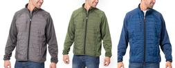 Orvis Men's Mixed Media Full Zip Jacket