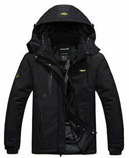 men s mountain waterproof ski jacket windproof