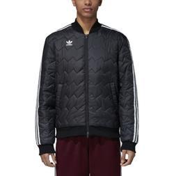 Adidas Men's Originals Sst Quilted Jacket Black DH5008