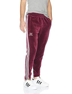 adidas Originals Men's Originals Velour 3-Stripes Trackpants
